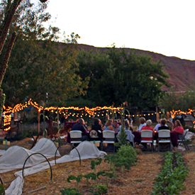 Event in Moab, Garden Dinners