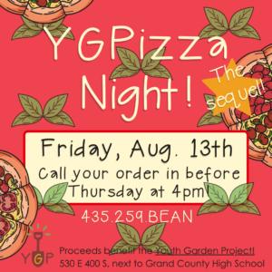 YGPizza night flyer